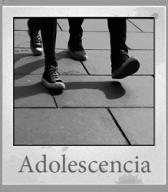 Banner sobre la adolescencia enlazado a la categoría del blog adolescencia