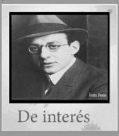 Banner de entradas de interés con la foto de Fritz Perls