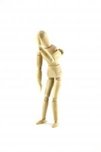 Móvil de figura humana