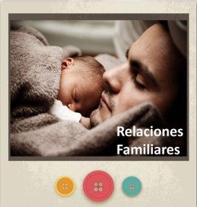 Banner un bebé con un hombre como representación de las Relaciones familiares enlazada a Servicios del Centro Psicológico María Jiménez
