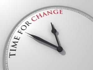 tiempo de cambio