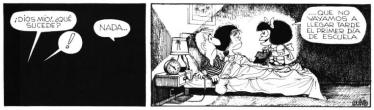Mafalda - vuelta al cole